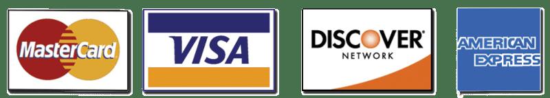 visa mastercard discover amex